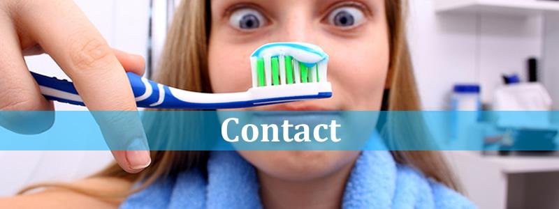 contacteer de tandarts