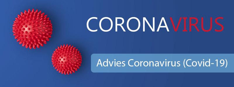 Advies Coronavirus (Covid-19)